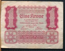 °°° AUSTRIA - 1 KRONE 1922 °°° - Austria