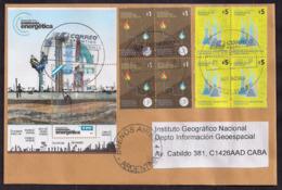 Argentina - 2018 - Lettre - Champs Pétrolifères - Gaz - Industrie Chimique - Lettres & Documents