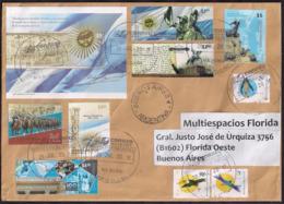 Argentina - 2018 - Lettre - Symboles Patriotiques - Héros De La Guerre D'indépendance - Lettres & Documents