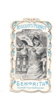 Biscuits Pernot. Chromo A Systeme Et A Tirette. Senorita. - Pernot