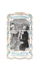 Biscuits Pernot. Chromo A Systeme Et A Tirette. Paillette. Cirque. Clown. - Pernot