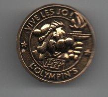 Pin's Pif JO, L'olympin's, Dos Doré....BT14 - BD