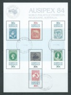 Australia 1984 Ausipex Stamp Exhibition Miniature Sheet Fine CTO Full Gum - 1980-89 Elizabeth II