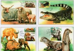 RCzech Republic - 2019 - Nature Protection - Zoological Gardens IV - Maximum Cards Set - Tsjechië