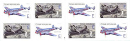 Czech Republic - 2019 - The World In Clouds - Electra 10A Airplane - Set Of 2 In Booklet - Tschechische Republik