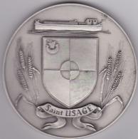 Médaille De Table FIA - Commune De Saint-Usage (21) - Bronze - Touristiques