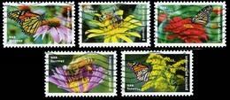 Etats-Unis / United States (Scott No.5228-32 - Polinisateurs / Polinators) (o) Et - Used Stamps