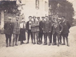 YVELINES CHANTELOUP FETE DE L ACP SEPTEMBRE 1917 DEVANT L HERMITAGE - Lieux