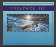"BLOC NEUF DES NATIONS UNIES VIENNE - ""UNISPACE III"" (CONFERENCE DES NATIONS UNIES) N° Y&T 10 - Espace"