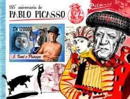 Sao Tome 2016  Paintings Pablo Picasso - Sao Tome And Principe