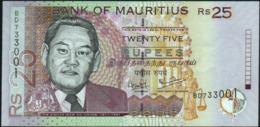 MAURITIUS - 25 Rupees 2006 {2 Signatures} UNC P.49 C - Mauritius
