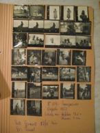 32 PROVINI FOTO SU FOGLIO 1950 PIAMPALUDO COPPIE DONNE UOMINI FEMMES HOMMES - Places