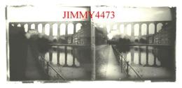 Plaque De Verre En Stéréo - Le Viaduc En 1932 - MORLAIX 29 Finistère - Taille 58 X 128 Mlls - Plaques De Verre