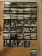 35 PROVINI FOTO SU FOGLIO 1950 PIAMPALUDO CAMPAGNA PAESAGGI DONNE FEMMES WOMEN - Places