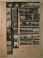36 PROVINI FOTO SU FOGLIO 1950 MASONE PIAMPALUDO MONTE BEIGUA LIGURIA AGRICOLTURA - Places