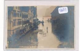 CPA-37681-Suisse -Brunnen -carte Photo Hochwasser 1910-Sans Frais Acheteur - SZ Schwyz