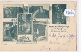 CPA ( Précurseur) -37676-67-Multivues Ruine Hohkönigsburg ( Haut Koenigsbourg )- Sans Frais Acheteur - France