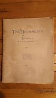 THE DOCUMENTS IN... EVIDENCE DE HENRY BLOSSOM  1894 COMPOSE DE 23 PAGES ECRITS DE SAINT LOUIS VOIR DESCRIPTION ET SCANS - Documents Historiques