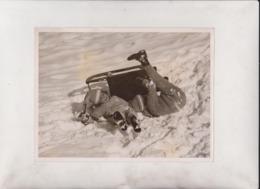 SWISS FUN OF A TUMBLE  WINTER SPORT  SWITZERLAND  20*15CM Fonds Victor FORBIN 1864-1947 - Fotos