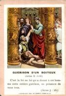 Image Pieuse : Guérison D'un Boiteux - Images Religieuses