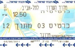 Année 2011 - Lot De 12 Tickets Transport Prague ??  - Scans Recto-verso - Europa
