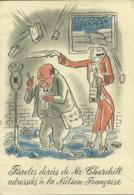 PAROLES DOREES DE Mr CHURCHILL ADRESSEES A LA NATION FRANCAISE (petit Livret) (ref 6025) - Humour