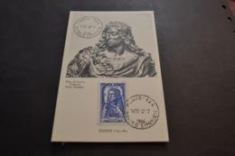 Carte Maximum 31/07/1944 Série Célébrités Le Grand Condé N°615 - Cartes-Maximum
