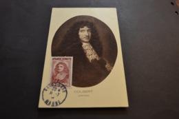 Carte Maximum 31/07/1944 Série Célébrités COLBERT  N°616 - Cartes-Maximum