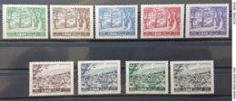 LC- 1961 Cedars Forest & Zahle City Complete Set 9v. MNH - Lebanon