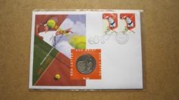 ECU Brief / Letter / Lettre ( N° 36 ) 100 Jaar KNLTB ( Details > Zie Foto's ) > Tennis ! - Nederland