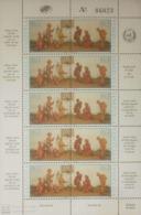 O) 1986 VENEZUELA, CHRISTMAS - CRECHE FIGURES BY ELIECER ALVAREZ - SHOWN - VIRGIN AND CHILD - SC 1377 - 1378, MNH - Venezuela