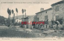 26 // RIVALES   Environs De Poet Laval,   Une Poterie - France
