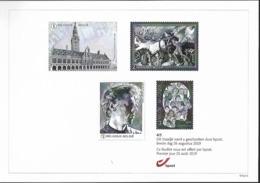 Belg. 2019 - Feuillet Noir & Blanc N° 4/5 ** -  (prévente 26 Août 2019) - Belgium