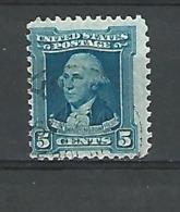 1932 WASHINGTON 5 CENTS OBLITÉRÉ - Etats-Unis