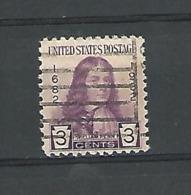 1932 WILLIAM PENN 3 CENTS OBLITÉRÉ - Etats-Unis
