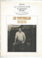 Partition Musicale Ancienne , HUGUES AUFRAY , LES TOURTERELLES , Frais Fr 1.85e - Partitions Musicales Anciennes