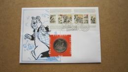 ECU Brief / Letter / Lettre ( N° 13 ) STRIPPOSTZEGELS ( Details > Zie Foto's ) Strip ! - Unclassified