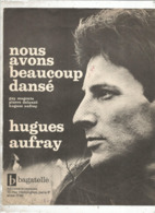 Partition Musicale Ancienne , HUGUES AUFRAY , NOUS AVONS BEAUCOUP DANSE , Frais Fr 1.85e - Partitions Musicales Anciennes