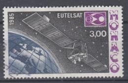 +Monaco 1985. EUTELSAT. Used - Used Stamps