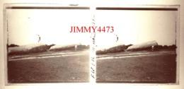 Plaque De Verre En Stéréo - Menhir à Identifier En 1932 - Taille 58 X 128 Mlls - Glasplaten