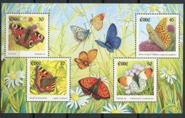 Irlande ** Bloc N° 37 - Papillons - Blocs-feuillets