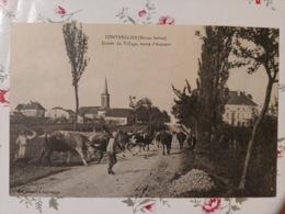 Contréglise Entrée Du Village Route D'avance (haute Saône Franche Comté) - Frankreich
