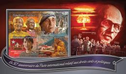TOGO 2016 ** Mother Teresa Mutter Teresa Mere Teresa M/S - OFFICIAL ISSUE - A1635 - Mutter Teresa