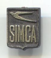 SIMCA - Car, Auto, Automotive, Vintage Pin, Badge, Abzeichen - Pin's