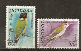Surinam 1977 Oiseaux Birds Obl - Surinam