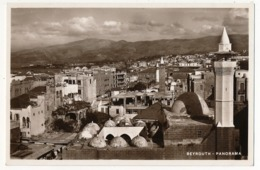 CPA - BEYROUTH (Liban) - Panorama - Libanon