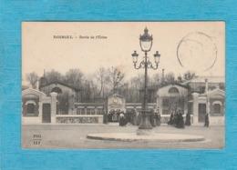 Noisiel, 1915 ( Seine-et-Marne ). - Sortie De L'Usine Des Ouvrières. - Noisiel