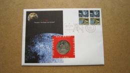 ECU Brief / Letter / Lettre ( N° 1 - 1994 ) MAANLANDING ( Details > Zie Foto's ) ! - Nederland