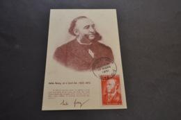Carte Maximum Jules Ferry N° 880 1° Jour 17/03/1951 Saint Dié - 1950-59