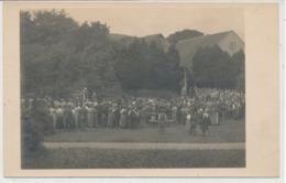 Carte Photo Evénement Religieux  Suisse Allemande Messe Près De Zurich 1916 - ZH Zurich